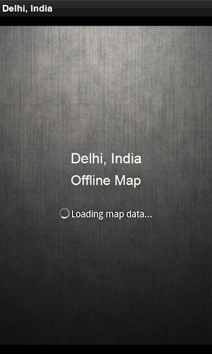 Offline Map Delhi India