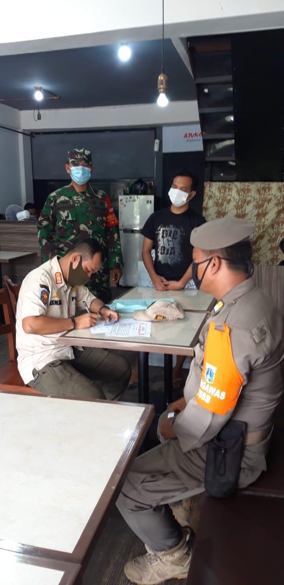 4 Ruko Di Tanjung Priok Ditutup Sementara yang tidak mematuhi Protokol Kesehatan