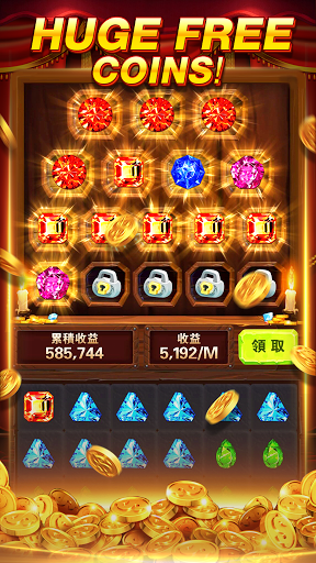 Crown Slots-Blackjack, free coins version screenshot 2