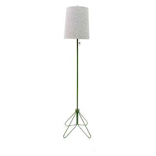 Lights UP! Flight 66 inch Hunter Green Floor Lamp