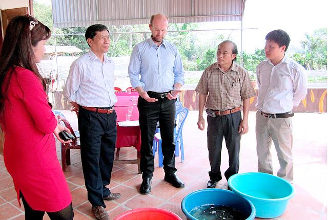 Dự án tài trợ của đại sứ quán Australia cho nông dân Thanh Hoá