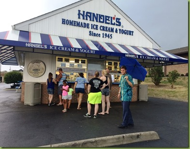 Handels ice cream in Canfield, OH