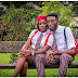 Couple Who Met In Secondary School Rock Their Uniforms In Pre-Wedding Pics