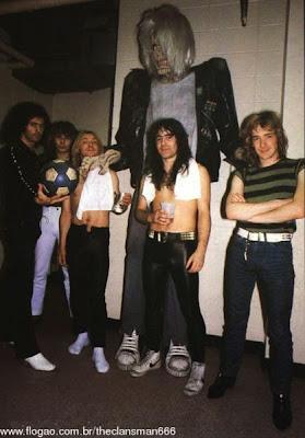 Ritchie Blackmore-1982 Tour d qo Iron Maiden