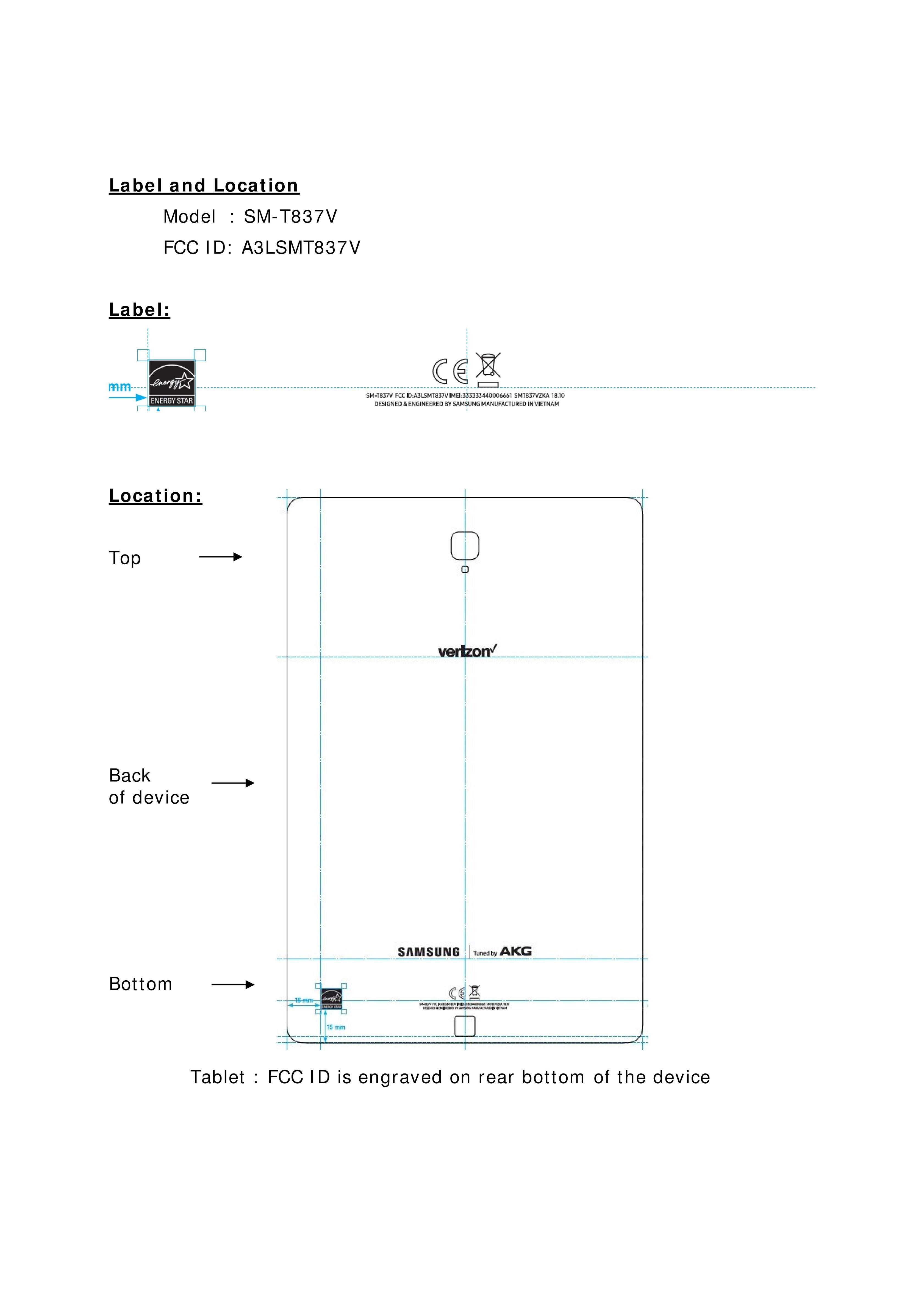 تصميم Galaxy Tab S4 يظهر بفضل هيئة الإتصالات الفيدرالية FCC