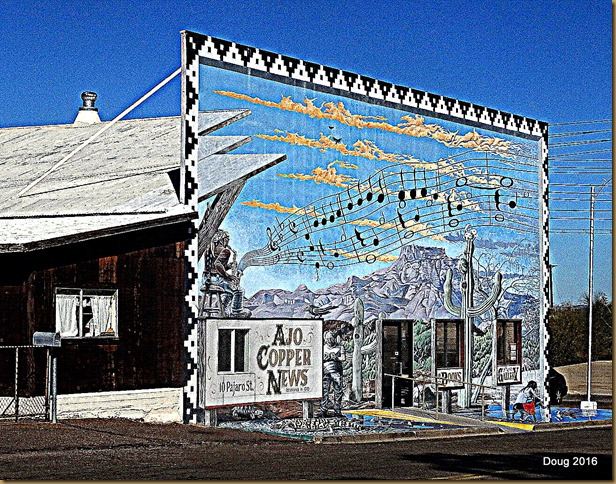 Ajo Copper News Mural