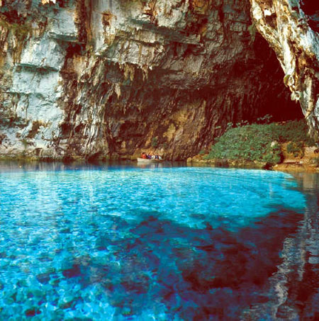 Sacred Caves In Greece Image