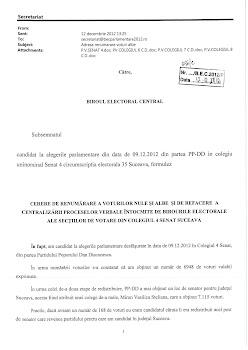 Conflict în PPDD Suceava: Constantin Enea a cerut BEC-ului să-i dea lui mandatul de senator atribuit Vasilică Steliana Miron