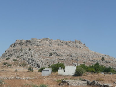 Feraclos Castle built by the Knights of St John