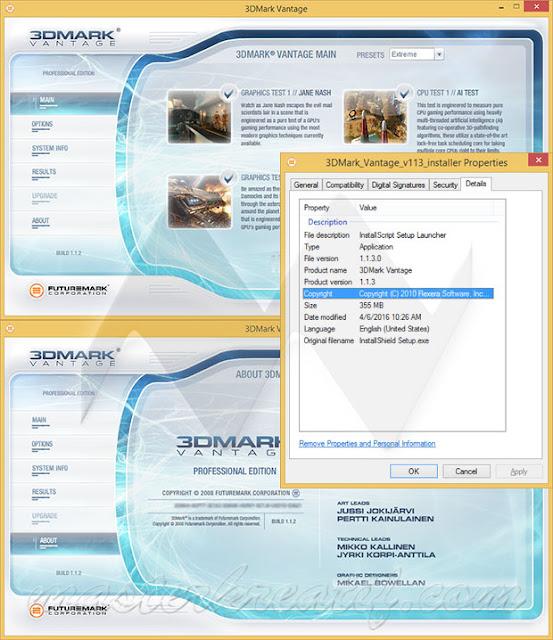 3DMark Vantage 1.1.3