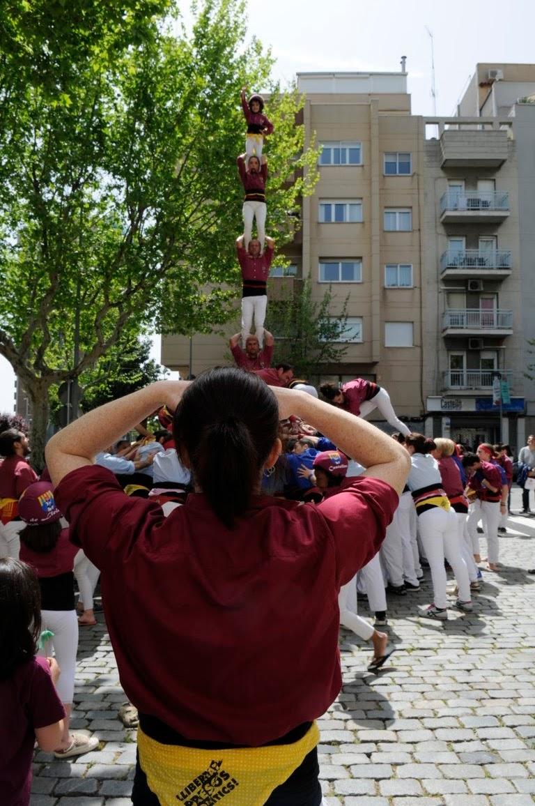 Actuació de Sant Jordi (Esplugues de Llobregat)  22-04-2018 - _DSC1306_castellers .JPG
