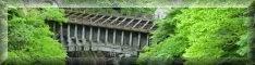 八ツ沢発電所施設 第一号水路橋