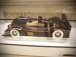 Carbon Fiber 1:4 model