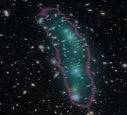 aglomerado de galáxia MACS 0416