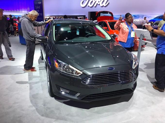 Ford displays new versions of Fiesta, Focus, Edge in LA Auto show
