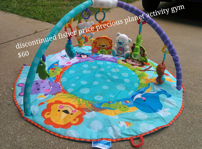 Discontinued Fisher Price Precious Planet Activity Gym