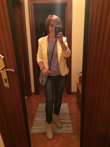 Yellow blazer // Americana amarilla