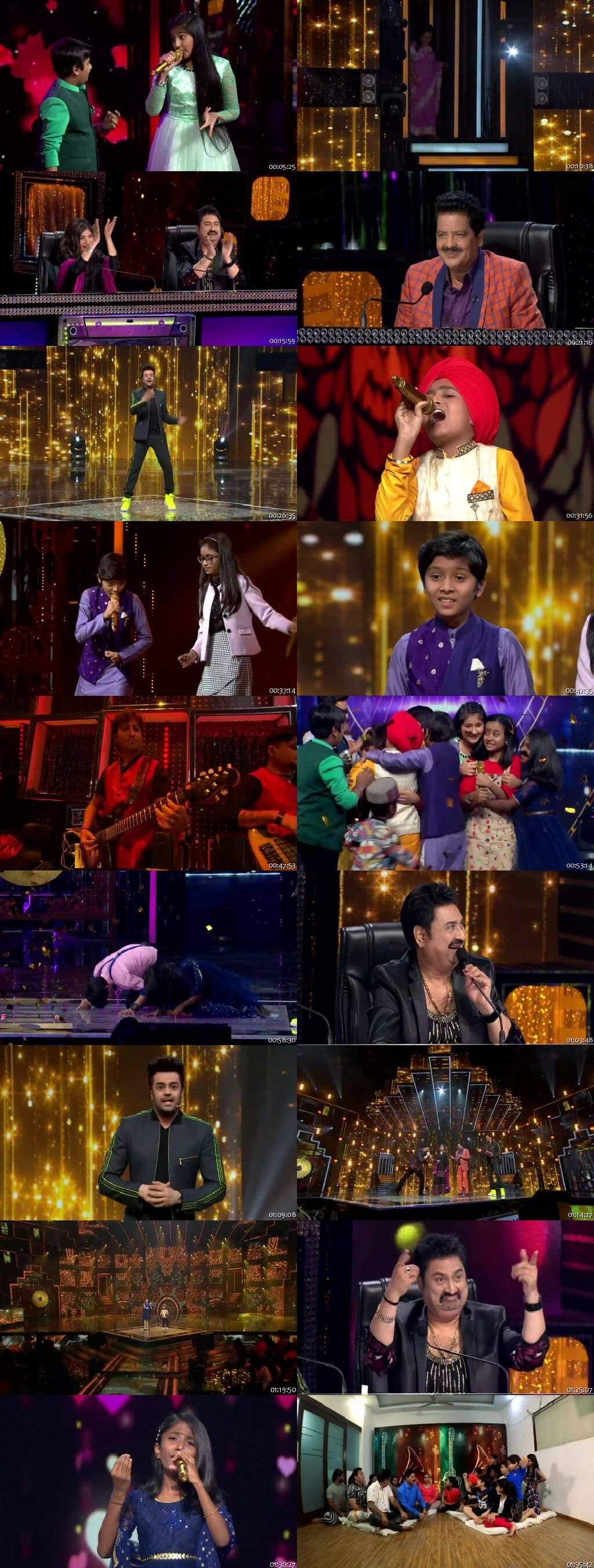 Screenshots Of Hindi Show Sa Re Ga Ma Pa 21st March 2020 Episode 06 300MB 480P HD