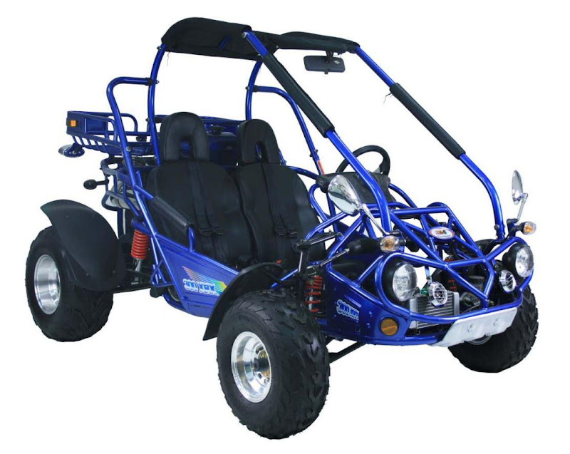 Blue 300cc Twister Dune Buggy