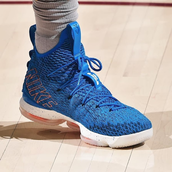 LBJ Breaks Out HWC Nike LeBron 15 Against Philadelphia