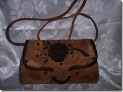 Large amadou purse