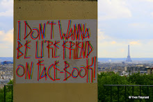 I don't wanna be u're friend on face-book !