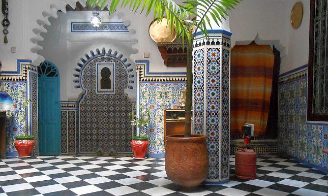 Hotel Riad Dalia in Tetouan, Marokko