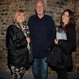 WWW.ENTSIMAGES.COM -   David Essex , Anna and Luisa Pozza  at    Traveller - UK film premiere / Q&A at Genesis Cinema, 93-95 Mile End Road, London September 8th 2013                                           Photo Mobis Photos/OIC 0203 174 1069