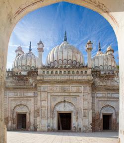 Mosque inside Sadiq Garh Palace Bahawalpur