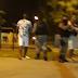 Homem fica ferido após ser baleado por sargento da Polícia Militar em praça de João Pessoa