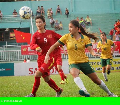 Hình 1: Thua Úc 3-4, thầy trò Takashi trắng tay rời giải bóng đá nữ Đông Nam Á