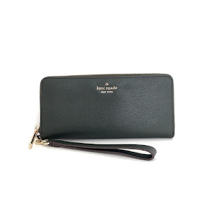 Kate Spade Green Wallet Wristlet