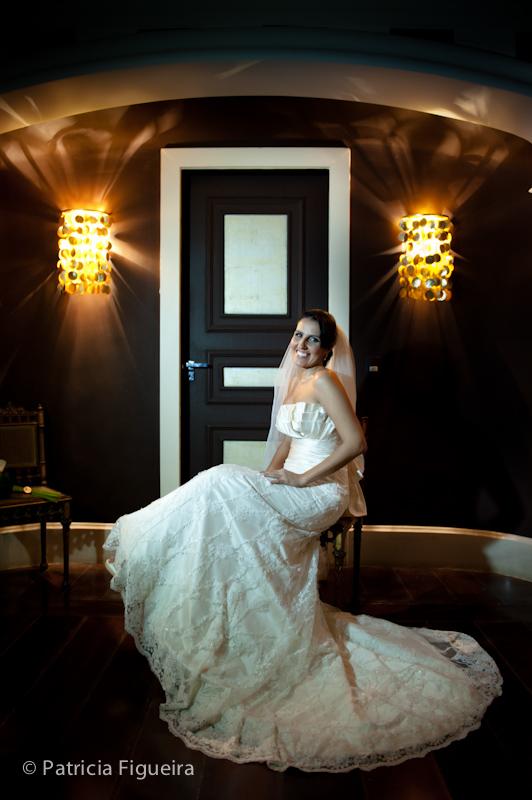 Foto de casamento 0214 de Mônica e Diogo. Marcações: 20/08/2011, Casamento Monica e Diogo, Fotos de Vestido, Marie Lafayette, Rio de Janeiro, Vestido, Vestido de Noiva.