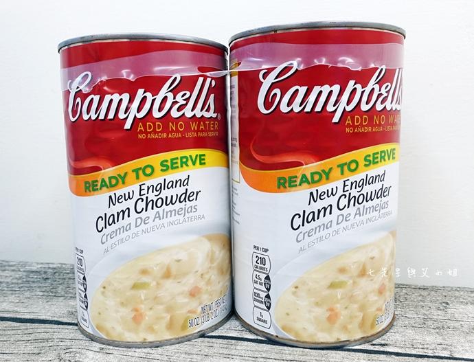 14 Costco 好市多必買物 購物清單 Campbell's新英倫蛤蜊濃湯