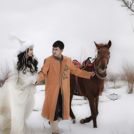 Wedding photographer Erlan Kuralbaev (Kuralbayev). Photo of 28.02.2018