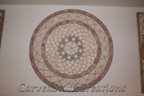 Cream, Flooring, Flooring & Mosaics, Interior, Marble, Mosaic, Natural, Red, Stone, Tile, Travertine