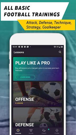 football school: free training video screenshot 2