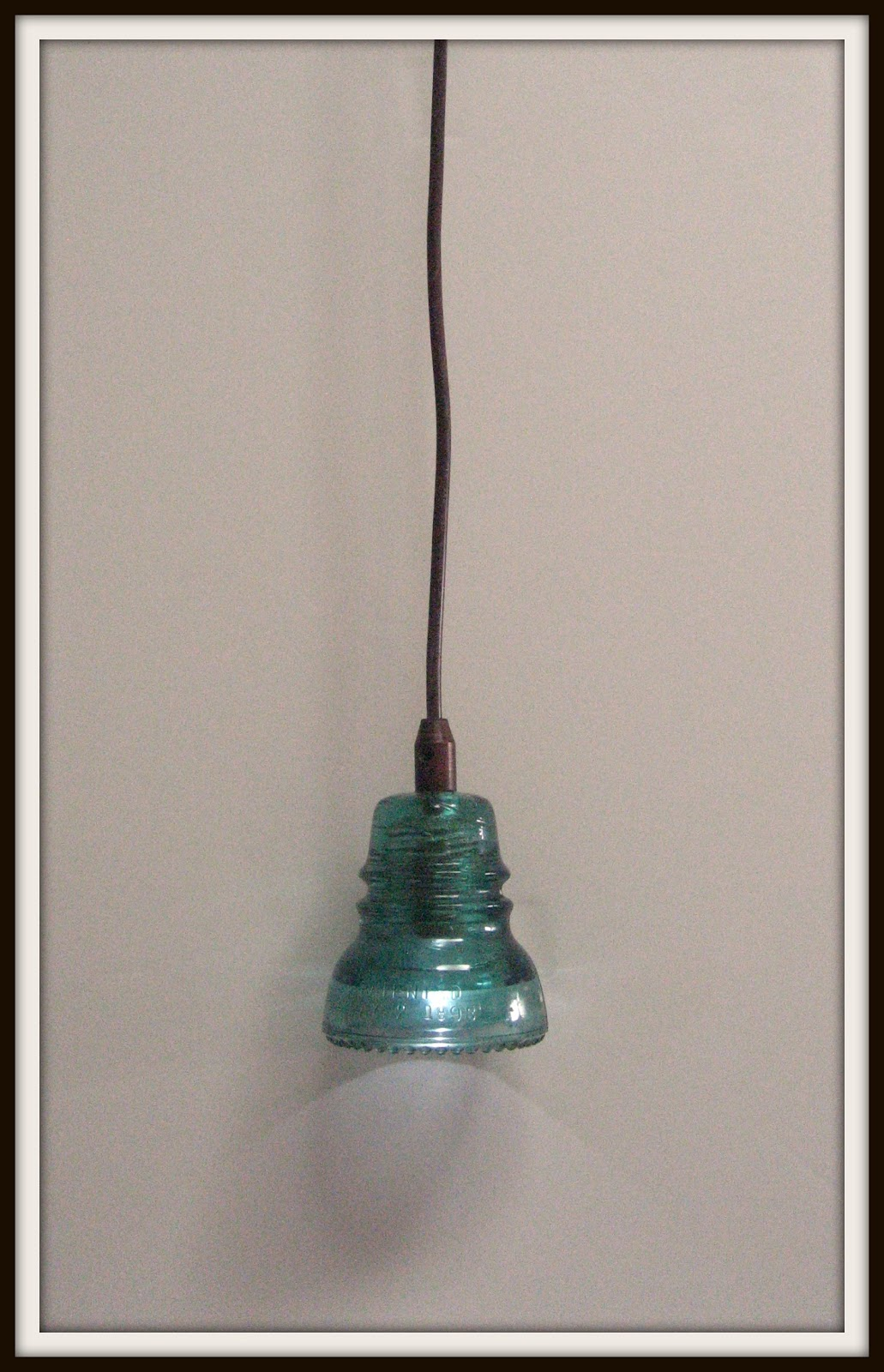 Girl In Air Blog How To Make A Glass Insulator Light
