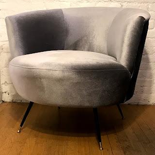 Safavieh Velvet Chair