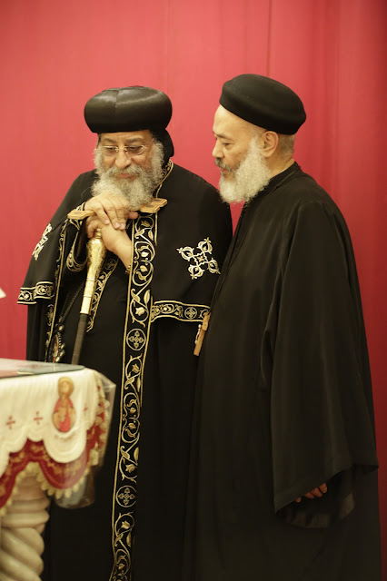 His Holiness Pope Tawadros II visit to St. Mark LA - _09A9074.JPG