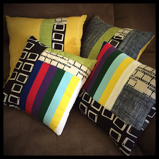 TV pillows