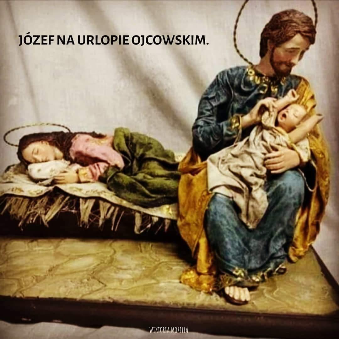 Józef na urlopie ojcowskim