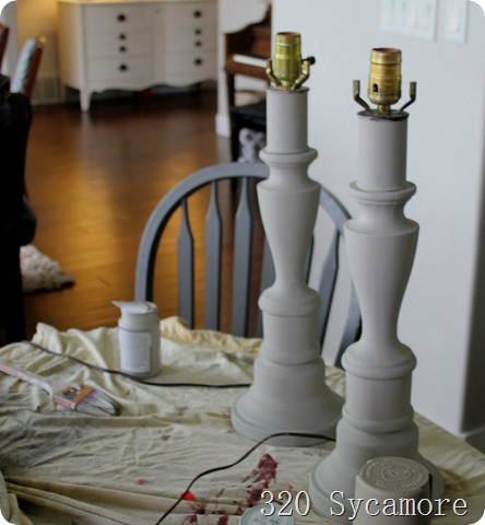 lamps painted with chalk paint_thumb[1]