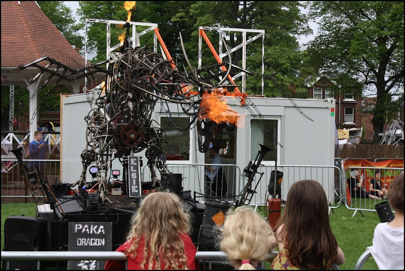 Paka Dragon at the Norfolk and Norwich Festival