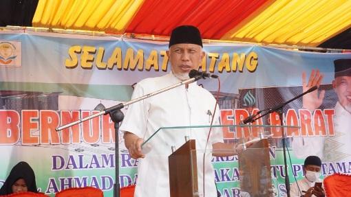 Gubernur: Masjid dan Pesantren Perkuat ABS-SBK