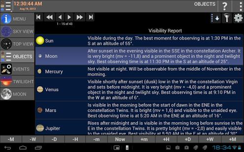 Mobile Observatory - Astronomy v2.30