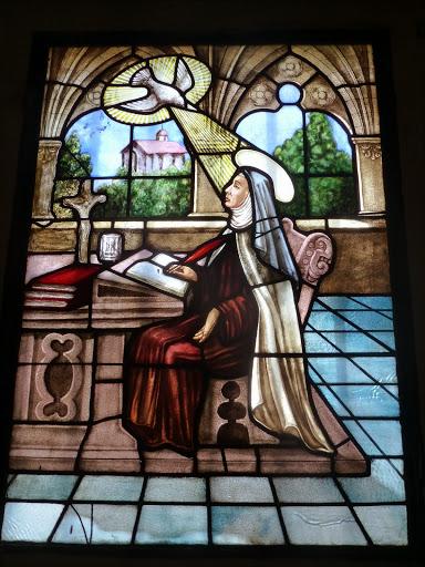 Santa Teresa de Jesús- Vitral
