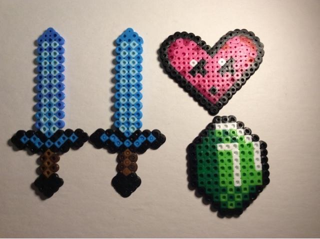 Arizona Kids And Family Fun Minecraft Perler Bead Figures