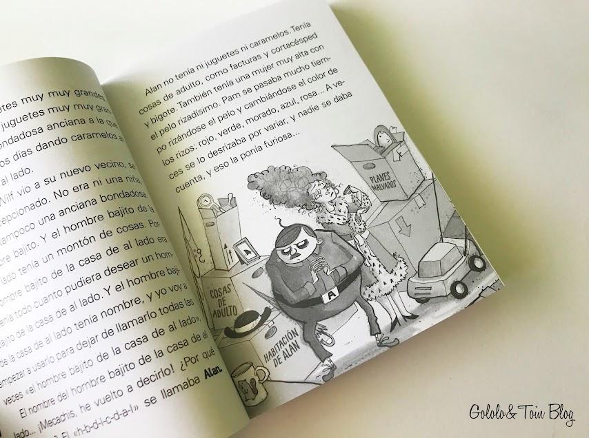 Libro infantil Wilf editorial Anaya