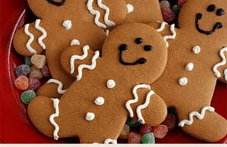 Gingerbread Men And Women Image
